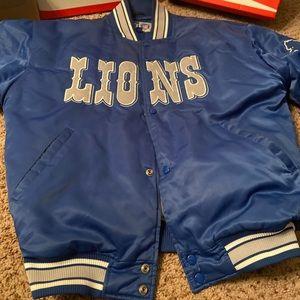 Like New Never Worn 91' Lions Starter Jacket